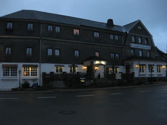 Hotel Altastenberg: Voorzijde hotel