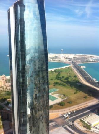 Jumeirah at Etihad Towers: view from room 5608
