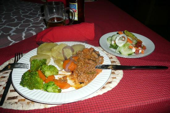 Whistling Thorn Tented Camp: Dinner