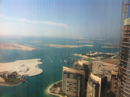 Jumeirah at Etihad Towers: from the executive lounge!