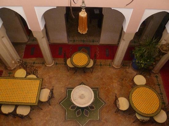 Riad Fantasia Prestige: Parte Interna