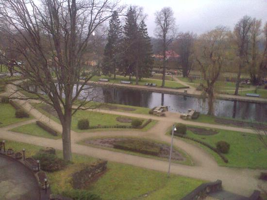 Kolonna Hotel Cesis : View Of the Park