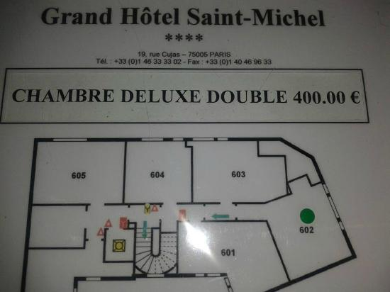 Grand Hotel Saint-Michel: ROOM