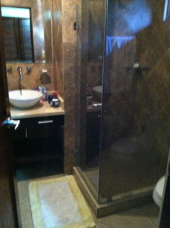 Hotel Arco Iris: bathroom - very nice for the $$