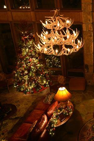 Young Harris, GA: We have designer decorated trees that turns the Ridges into a Holiday Wonderland