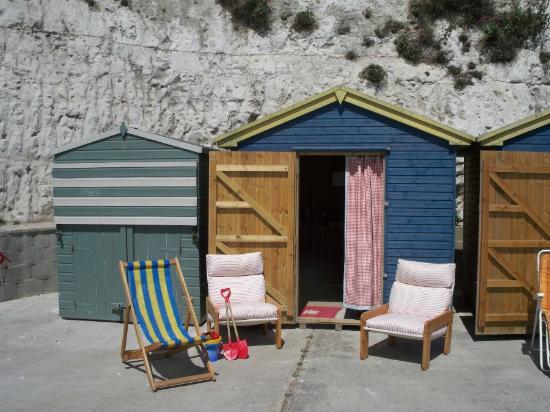 Broadstairs House: Beach hut
