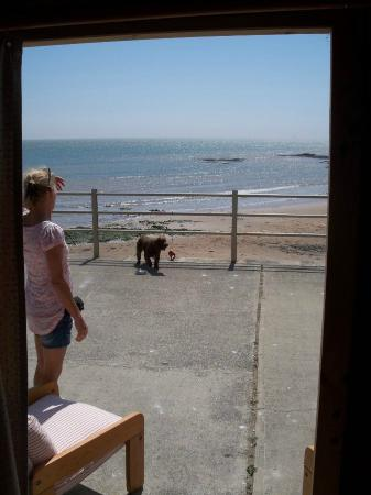 Broadstairs House: View from Beach Hut