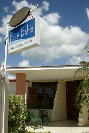 Blue Bahia Bar Restaurante: FRONT OF THE RESTAURANT