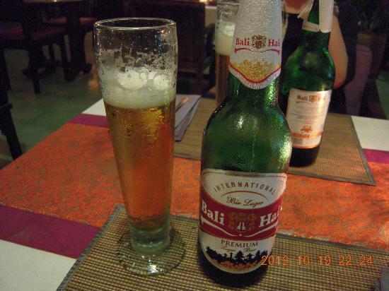 Bollero Restaurant: バリハイビール