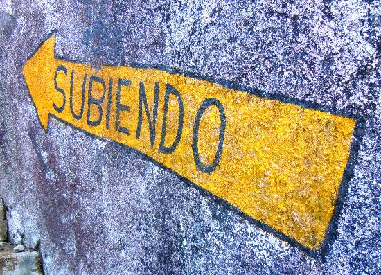Piedra del Penol: Going up