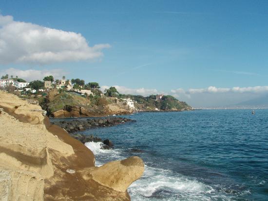 Parco Sommerso di Gaiola Area Marina Protetta: veduta lato marechioaro