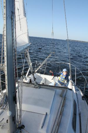 Oriental's School of Sailing: Sailing near Oriental