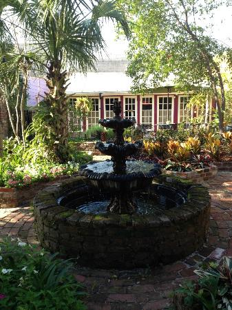 The New Orleans Jazz Quarters: old fountain