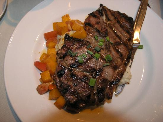 Malabar Farm Restaurant: Pork Steak with Butternut Squash (NOV 9 2012)