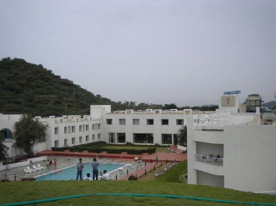 Inder Residency: Front view