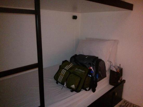 Bunc Hostel: My bunk area