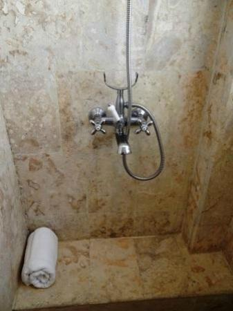 Los Altos Condo Residences: Detail of Shower Stall
