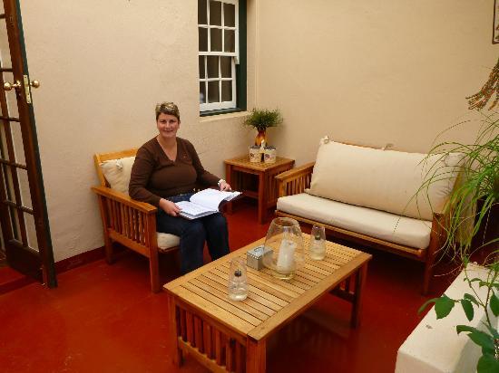 De Leeuwenhof Hotel/Guesthouse: auf der Terrasse