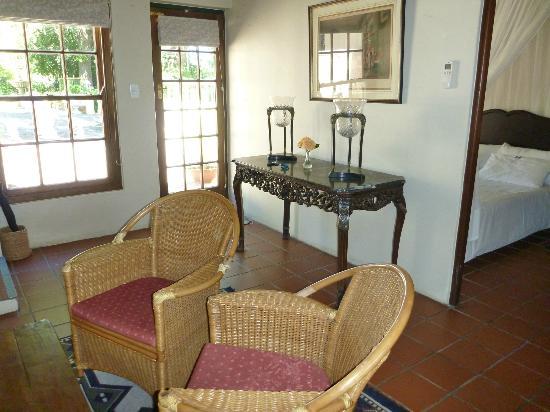 De Leeuwenhof Hotel/Guesthouse: Wohnzimmer