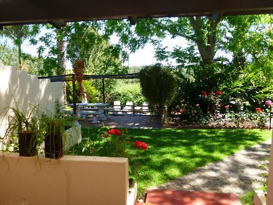 De Leeuwenhof Hotel/Guesthouse: eigener Garten