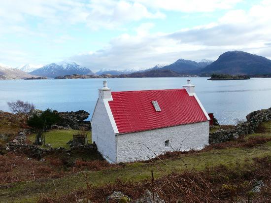 Glen Torridon: Gorgeous wee cottage Loch Torridon