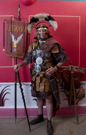 Roman Tours: Meet at our centurions office and try the armour on