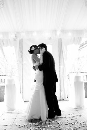 Hotel Providence: A moment from one of our lovely weddings.. Congratulations Mary & Blake!