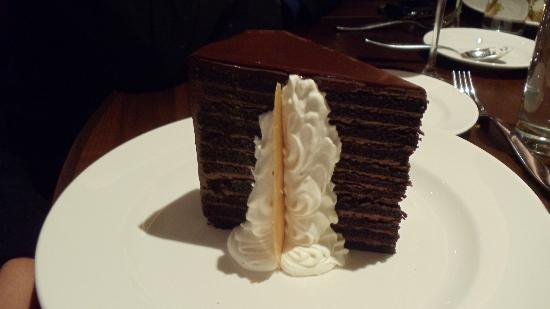 23 layer chocolate cake Picture of Michael Jordans Steak House