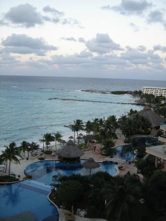 Grand Fiesta Americana Coral Beach Cancun: the view from the room
