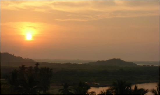 Sunrise from Hotel Delfin rooftop