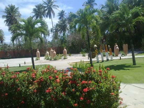 Pousada Tabapitanga : jardim