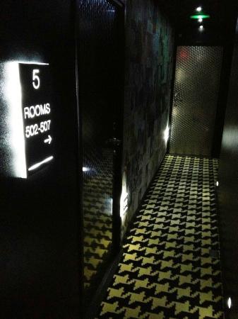 Platine Hotel : corridoio