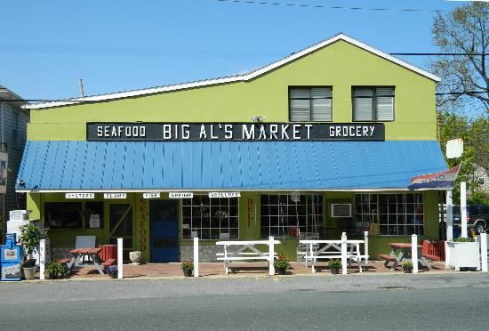 Big Al's Seafood: Big A's Market Storefront