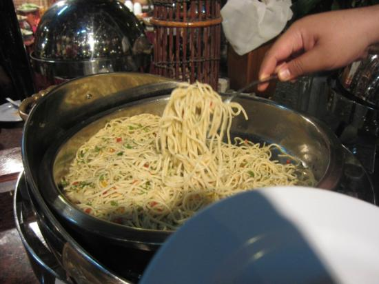 Teluk Dalam Resort: Tasty pasta