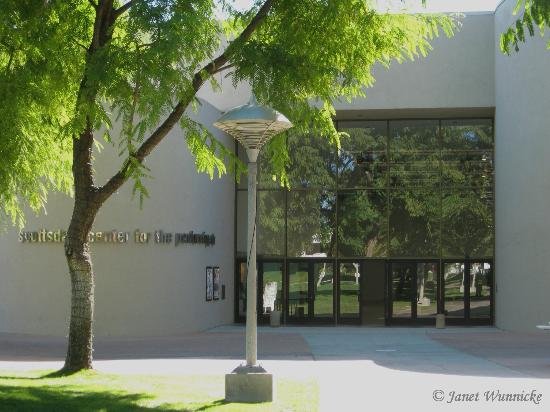 Scottsdale Center for the Arts: Entrance on the north side