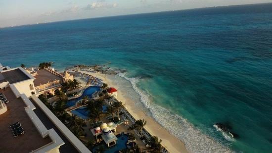 Hotel Riu Cancun: vista desde la habitacion piso 13