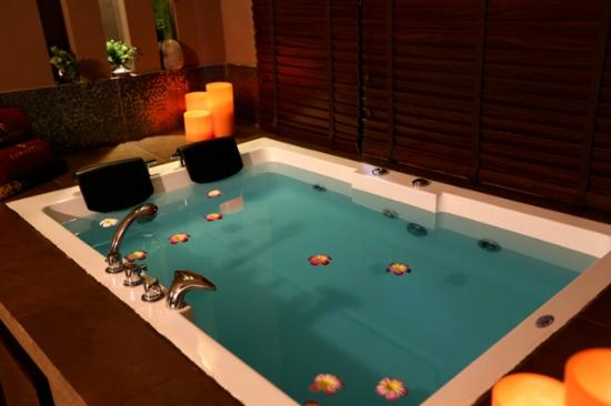 New Delhi, India: Suites specially designed for couples, replete with a private Jacuzzi.