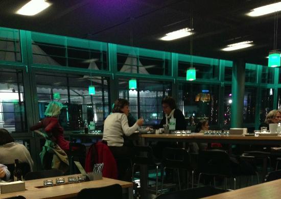 World Cafe : A pleasant, modern interior