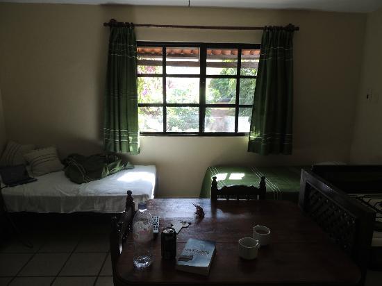 Hotel Boutique Posada Mariposa: Kitchen / living room, suite #20