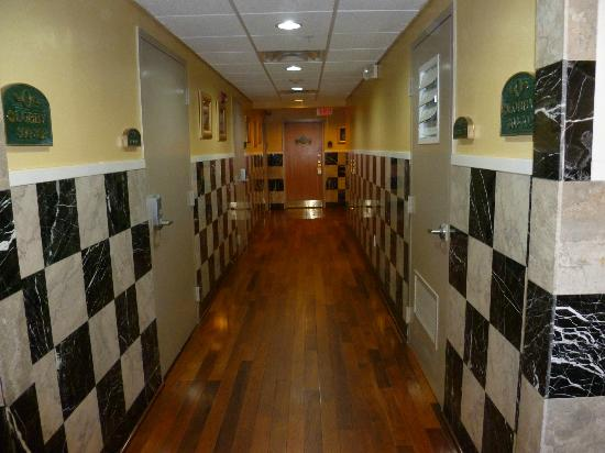 Ocean Inn and Suites: The hallway