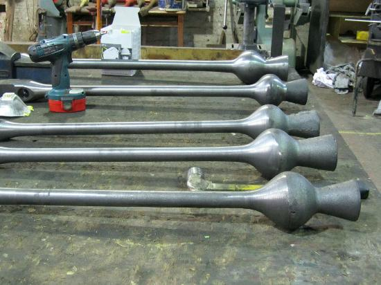 John Taylor Bellfoundry Museum: New clappers