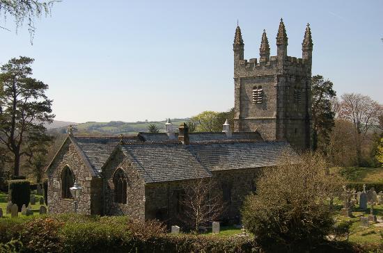 Lydford Castle & Saxon Town: St Petroc's Church