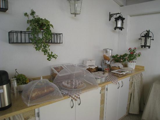 Salve, Italia: köstliches Frühstücksbuffet