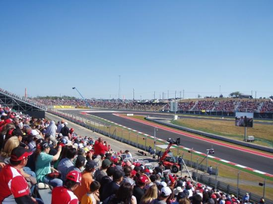 The Raceday Crowd, Turn 11 West. - Picture of Circuit of The Americas, Austin - TripAdvisor