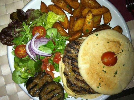 Reina Mora: la mejor hamburguesa de cordero!!