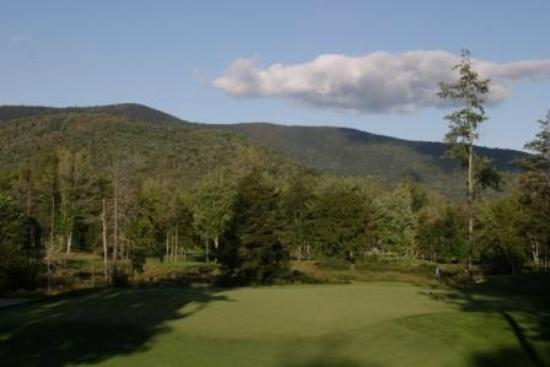 Green Mountain National Golf Course: Hole #18 Green