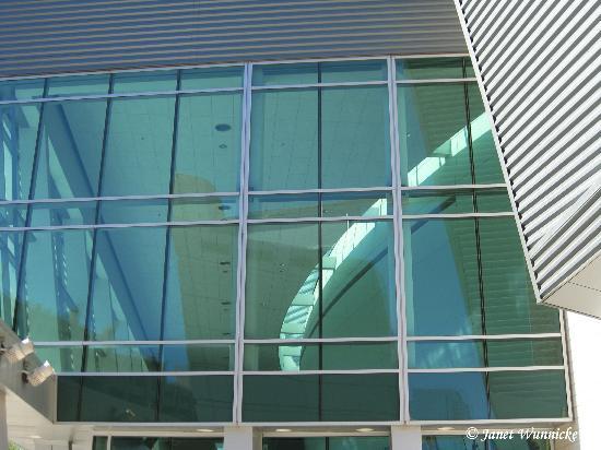 Comerica Theatre: Looking into the upper window