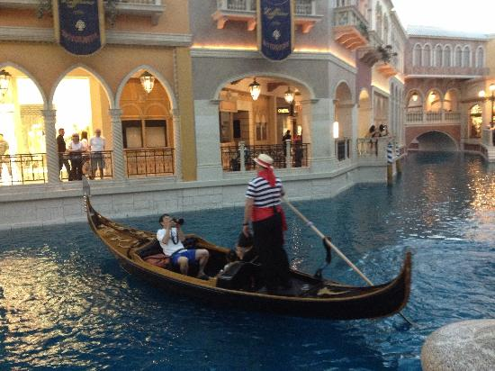 Venetian Resort Hotel Casino: Canal grande