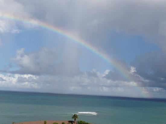 The Buccaneer St Croix : Rainbow Morning at Buccaneer Resort