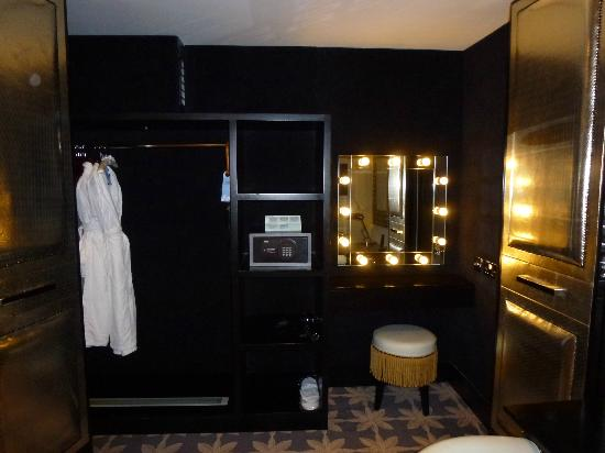 Merchant Hotel: Dressing Table (inside wardrobe)